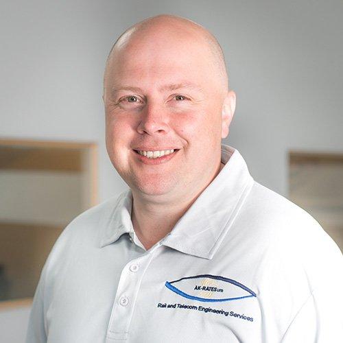Rail structure examiner Chris Killen - Structural Examiner (STE4)