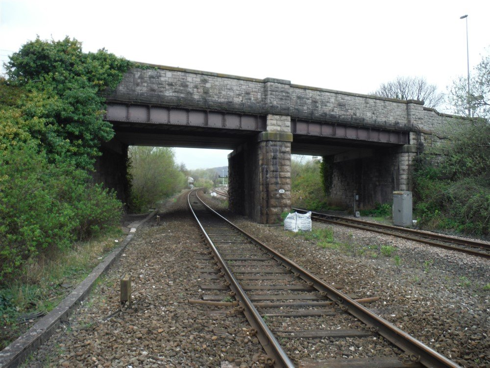 A double span brick overbridge.